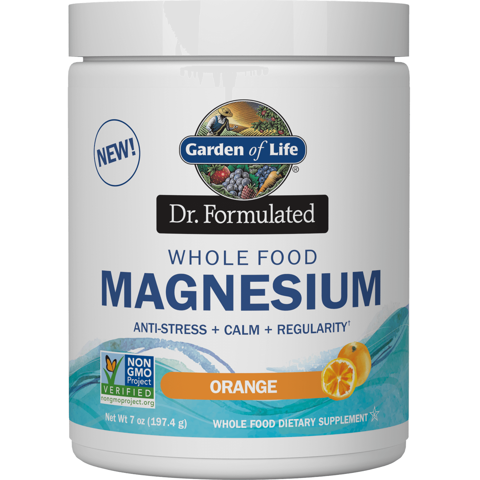 Whole Food Magnesium ( 40 porções)